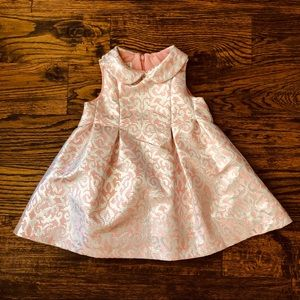 Phipps & Julie Pink and Silver Sparkle Dress 3T